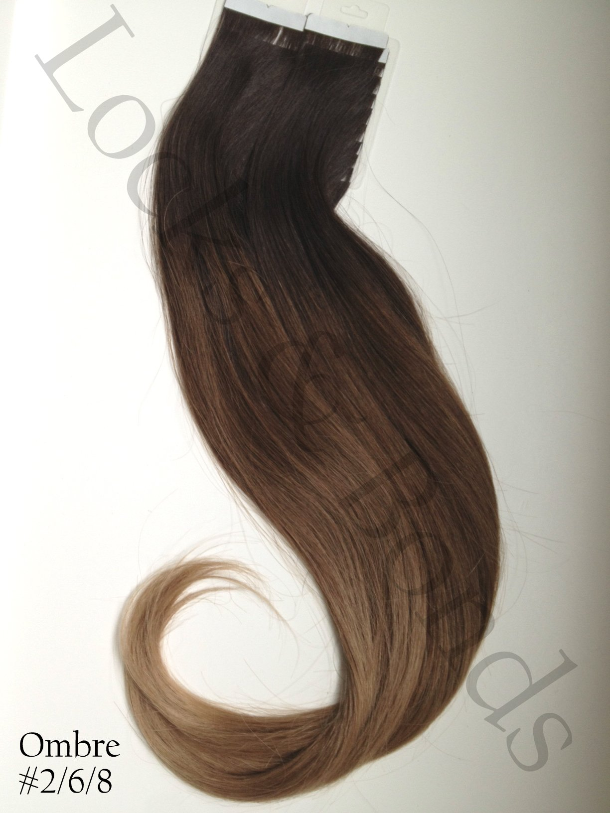 Dark To Light Golden Brown 22 Inches Remy Human Hair Tape Extensions