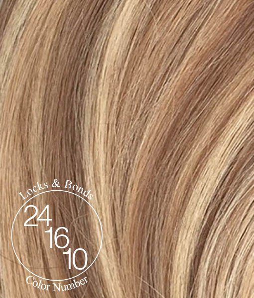 Sandy Blonde Amp Brown Tri Blend Remy 18 Inches Hair Tape