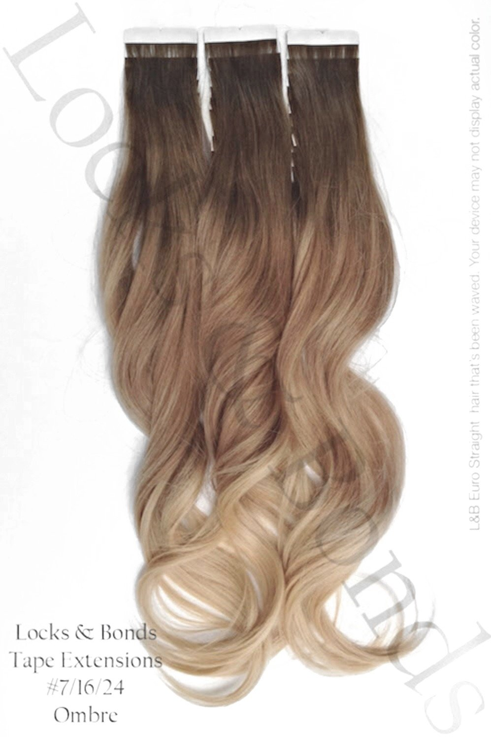 Neutral Brown To Sandy Blonde Virgin Remy 18 Inches Hair Tape Extensions