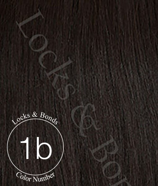 Locks & Bonds Color #1B Darkest Brown