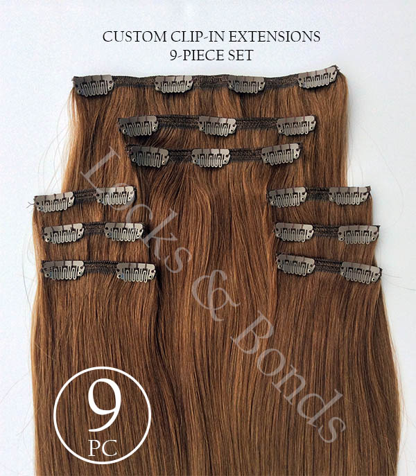 The Best Custom Made Clip In Human Hair Extensions 12 36 Inches