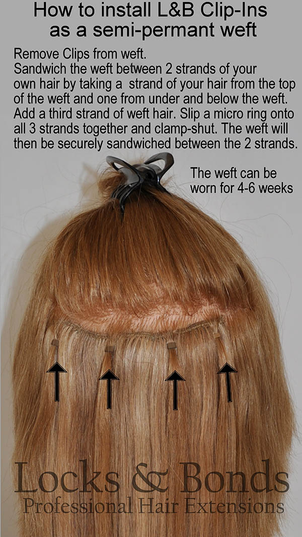 Want To Wear Your Lb Clip In Extensions As Permanent Extensions