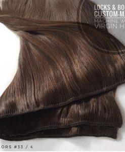 Custom-made Machine Weft Hair Extensions